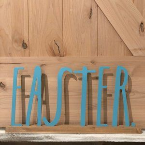 "Rae Dunn ""Easter"" Word Runner"